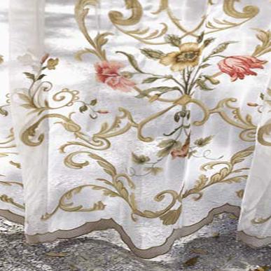 Итальянские тюли Botticelli фабрики Ricam Art