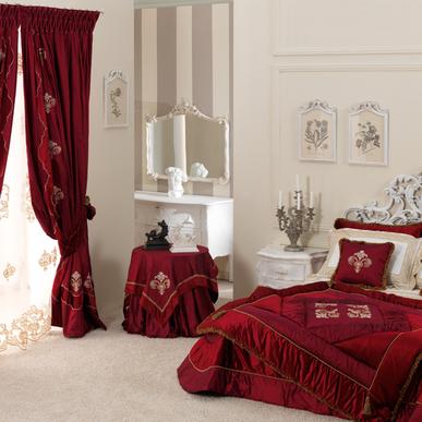 Итальянский тeкстиль для спален Orchidea фабрики Ricam Art