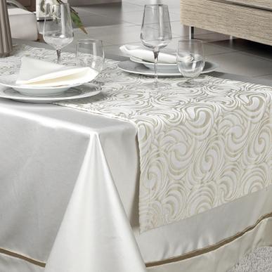 Итальянский столовый текстиль Nebbiolo фабрики Centro Del Ricamo