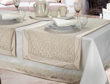 Итальянский столовый текстиль Soave фабрики Centro Del Ricamo