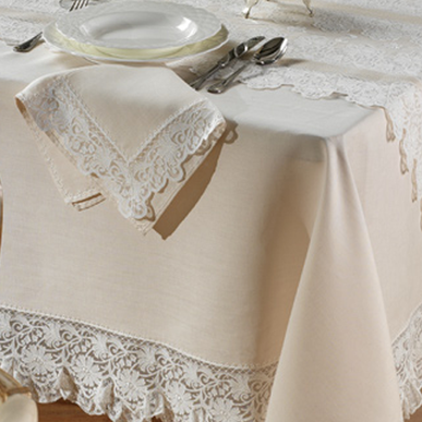 Итальянский столовый текстиль Chiara фабрики Ricam Art