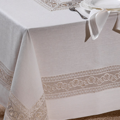 Итальянский столовый текстиль Nizza фабрики Ricam Art