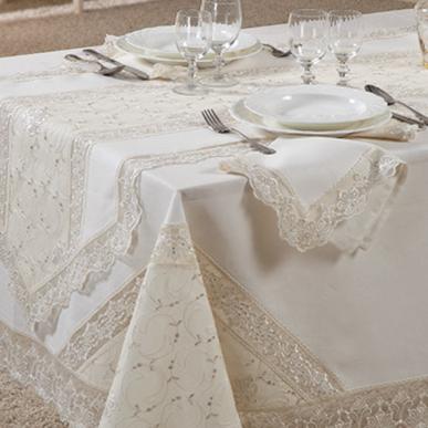 Итальянский столовый текстиль Laila фабрики Ricam Art