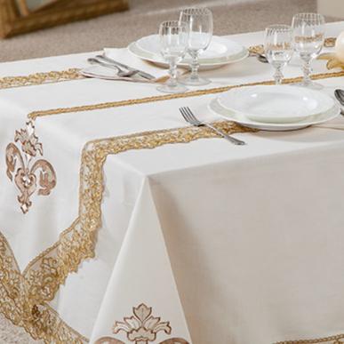Итальянский столовый текстиль Orchidea фабрики Ricam Art