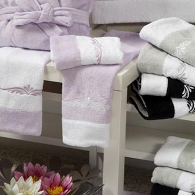 Итальянские полотенца и халаты Riccione фабрики Ricam Art