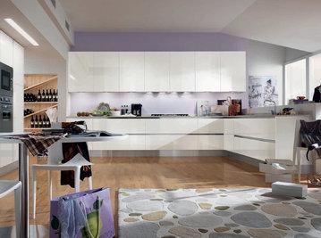 Итальянская кухня FLY 03 фабрики CONCRETA