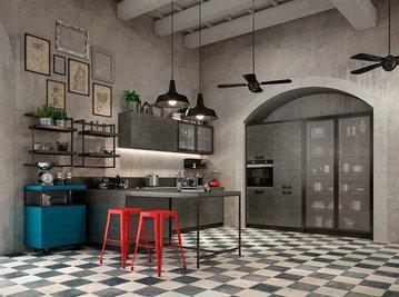 Итальянская кухня URBAN 03 фабрики CONCRETA