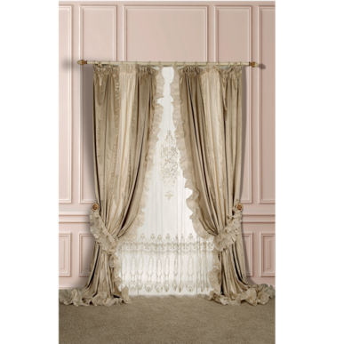 Итальянские шторы и гардины Paquita фабрики Ricam Art