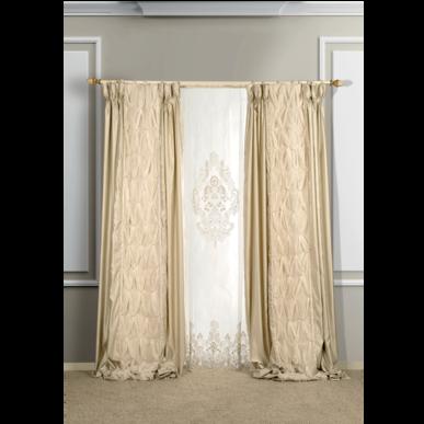 Итальянские шторы и гардины Esmeralda фабрики Ricam Art
