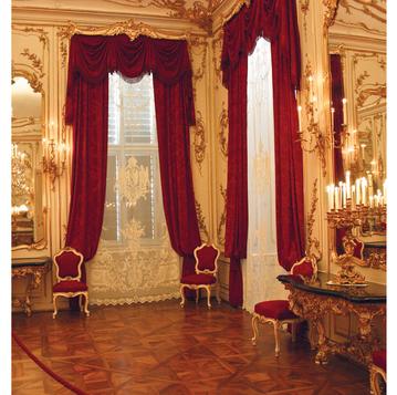 Итальянские шторы и тюль  Hofburg фабрики I Nobili