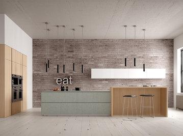 Итальянская кухня FORTY/5 CEMENTO фабрики VALDESIGN