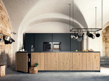 Итальянская кухня LOGICA 2.2 01 фабрики VALDESIGN