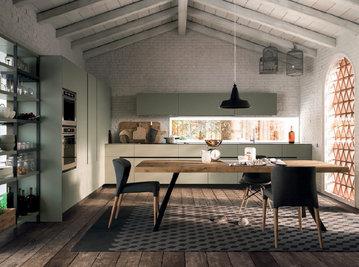 Итальянская кухня SOHO 01 фабрики VALDESIGN