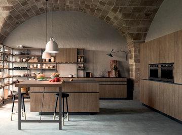 Итальянская кухня SOHO 02 фабрики VALDESIGN