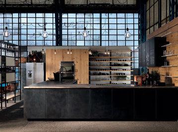 Итальянская кухня FACTORY 02 фабрики ASTER