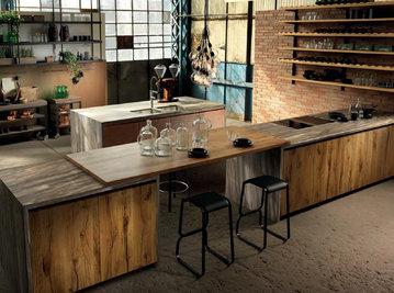 Итальянская кухня FACTORY 05 фабрики ASTER
