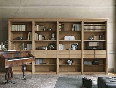 Итальянский книжный шкаф KALÍ фабрики OLDLINE