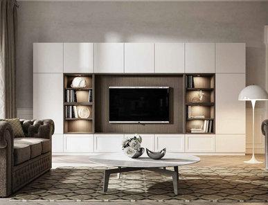 Итальянская мебель для ТВ MAYA 01 фабрики OLDLINE