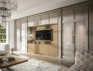 Итальянская мебель для ТВ MAYA 02 фабрики OLDLINE