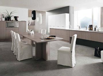 Итальянская кухня LOOP ASH GREY OAK фабрики OLDLINE