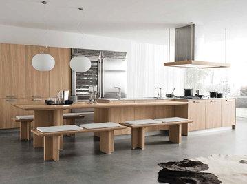 Итальянская кухня LOOP SANDY OAK фабрики OLDLINE