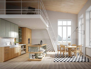 Итальянская кухня NORDICO 03 фабрики OLDLINE