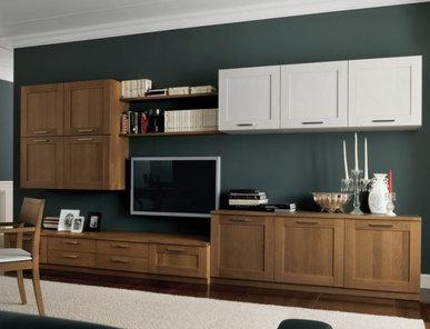 Итальянская мебель для ТВ EKO 02 фабрики OLDLINE
