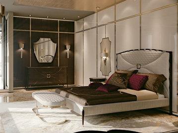 Итальянская кровать 7081 фабрики CARPANESE HOME