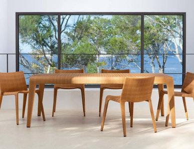 Испанский прямоугольный стол U фабрики COLECCION ALEXANDRA