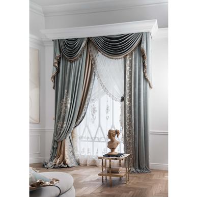 Итальянские шторы и тюль Versailles Allover фабрики Chicca Orlando