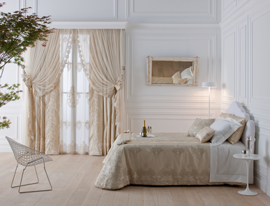 Итальянский тeкстиль для спален Acanto фабрики Chicca Orlando