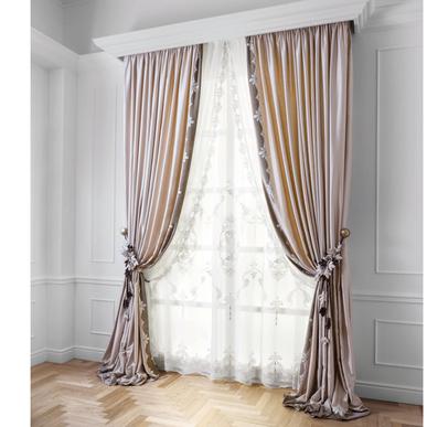 Итальянские шторы и тюль Art Nouveau Allover фабрики Chicca Orlando