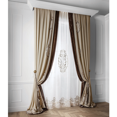 Итальянские шторы и тюль Art Nouveau Con centrale фабрики Chicca Orlando