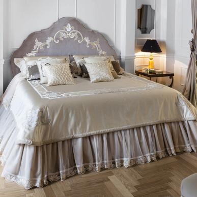 Итальянский тeкстиль для спален Art Nouveau фабрики Chicca Orlando