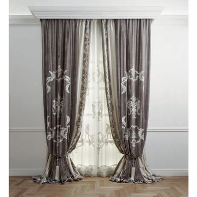 Итальянские шторы и тюль Ducale Allover фабрики Chicca Orlando