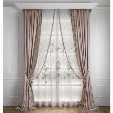 Итальянские шторы и тюль Elisabeth фабрики Chicca Orlando