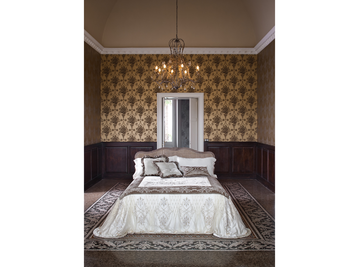 Итальянский тeкстиль для спален Metropolitan фабрики Chicca Orlando