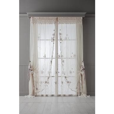 Итальянские шторы и тюль Flora фабрики Chicca Orlando