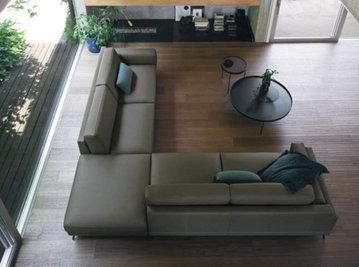 Итальянский угловой диван HUBER фабрики DOIMO SALOTTI