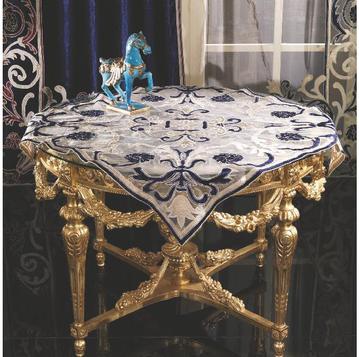 Итальянская скатерть в тюле Botticelli R-2171 фабрики La Contessinа