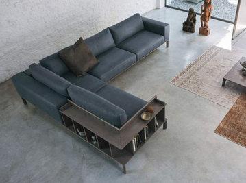 Итальянский угловой диван PLACE фабрики DOIMO SALOTTI