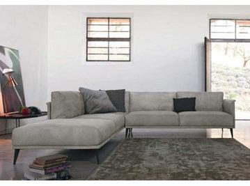 Итальянский угловой диван STILE LIBERO фабрики DOIMO SALOTTI