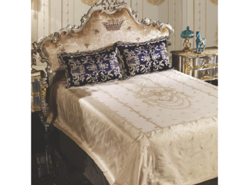 Итальянский тeкстиль для спален Canaletto R-2130 фабрики La Contessinа