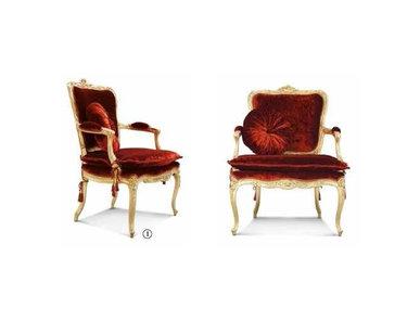 Итальянское кресло 3291 фабрики RAMPOLDI CREATIONS