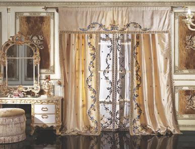 Итальянские шторы и тюли Duchessa 001 фабрики La Contessinа