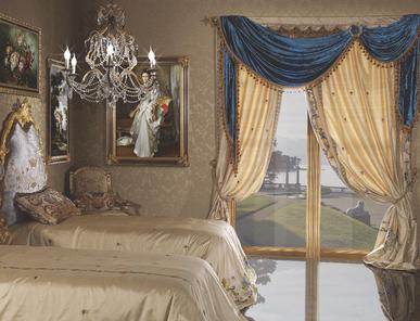 Итальянские шторы и тюли Duchessa 002 фабрики La Contessinа