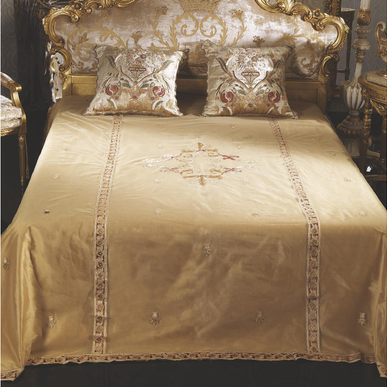 Итальянский тeкстиль для спален Duchessa R-519 фабрки La Contessinа
