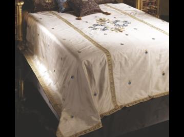 Итальянский тeкстиль для спален Duchessa R-519-1 фабрки La Contessinа