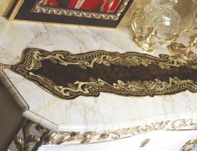 Итальянская скатерть в бархате Duchessa R-409 фабрики La Contessinа