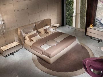 Итальянская кровать CANNES.5200 фабрики CORNELIO CAPPELLINI